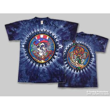 Grateful Dead Psycle Sam Tie Dye T-Shirt