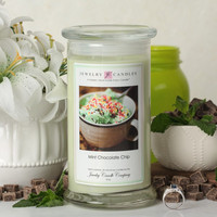 Mint Chocolate Chip Jewelry Candle