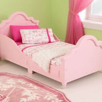 Raleigh Toddler Bed Pink