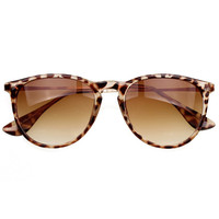 Leopard Grandient Lens Cat Eye Sunglasses