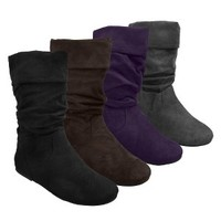 Womens Glaze by Adi Slouchy Microsuede Boots