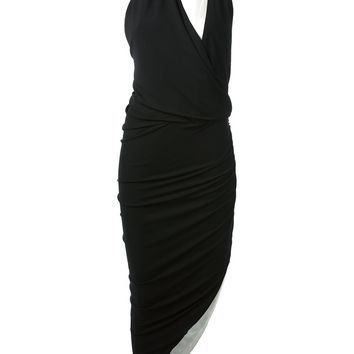 Alexandre Vauthier Asymmetric Cut Out Dress