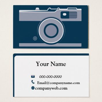 Camera Business Card