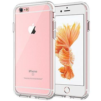 JETech Case for Apple iPhone 6 and iPhone 6s, Shock-Absorption Bumper Cover, Anti-Scratch Clear Back, HD Clear