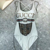 GUCCI Bathing suit with a sling vest