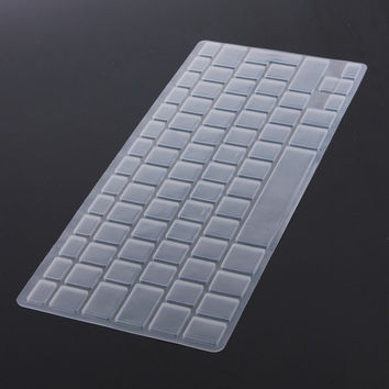 Top Selling 1pc EU Keyboard Cover Skin Protector Dustproof Silicon Keyboard Cover for Apple For Macbook Pro 131517 Air 13