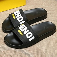 Fendi Womens Fashion Slipper Sandals Shoes