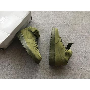 Nike Air Force 1 Mid Olive | Best Deal Online