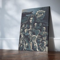 Game of Thrones Legacy Canvas Set