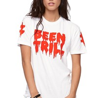 Been Trill Logo Short Sleeve T-Shirt - Womens Tee - White