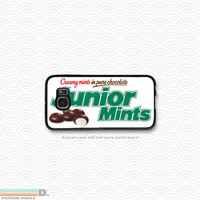 Junior Mints Candy, Custom Phone Case for Galaxy S4, S5, S6