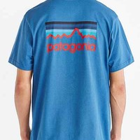 Patagonia Line Logo Tee - Urban Outfitters