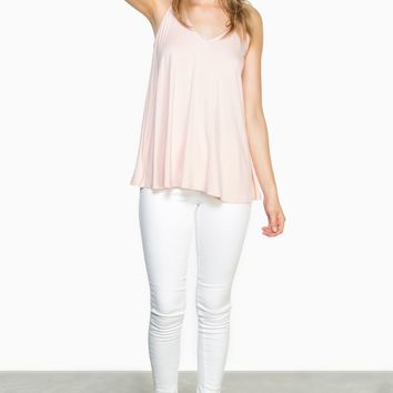 ShopSosie Style : Easy Breezy Tank Top in Pink