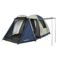 Spotlight - OZtrail Outlook Dome Tent Blue & Khaki | Anaconda