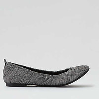 AEO Scrunch Ballet Flat , Dark Gray