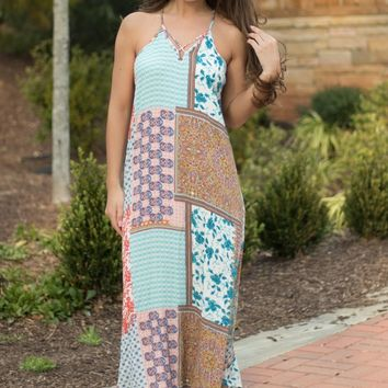 The Ashbury Patchwork Maxi