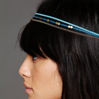 Free People Flat Stud Leather Headband