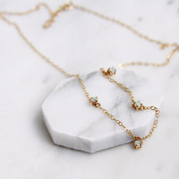 Olivia Opal Necklace