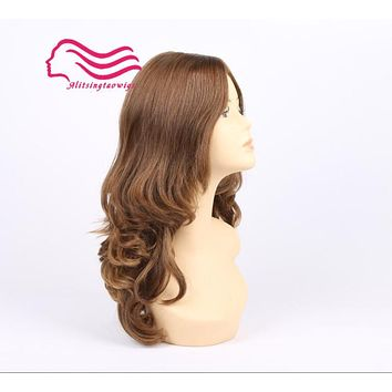 Customized made color 8/6 kosher wig ,jewish wigs finest european hair wigs free shipping