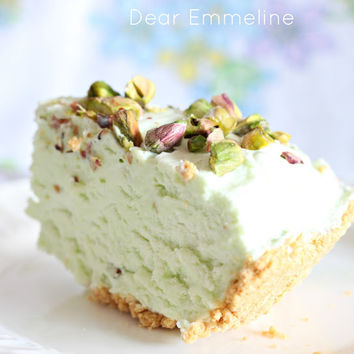 Dear Emmeline: Pistachio Icebox Pie