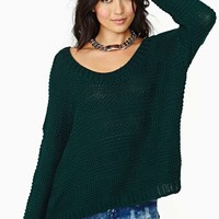 Bright Morning Sweater - Green