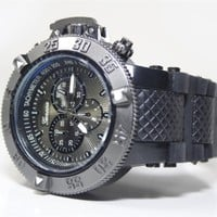 Black Invicta Inspired Watch