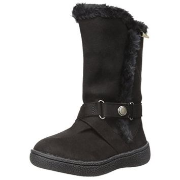 Western Chief Girls Maggie Little Kid Faux Fur Casual Boots