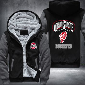 [50% OFF!!] EXCLUSIVE OHIO STATE BUCKEYES HOODIE JACKET - FREE SHIPPING
