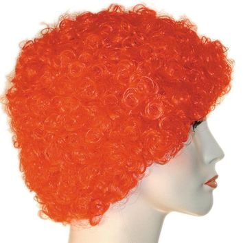 Curly Clown Kk Short Lavender women's wig for Halloween