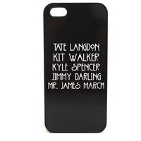AHS Evan Peters Characters' Names Phone Case