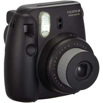 Fujifilm Instax Mini 8 Instant Camera (black)
