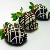 One Dozen (12) Chocolate Covered Strawberries