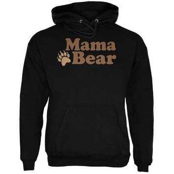 Mothers Day - Mama Bear Black Adult Hoodie