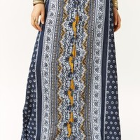 DARK LIGHT MAXI SKIRT