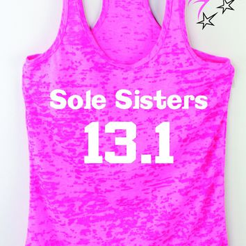 Sole Sisters 13.1 Womens Half Marathon Tank Top
