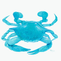 Crab Painting