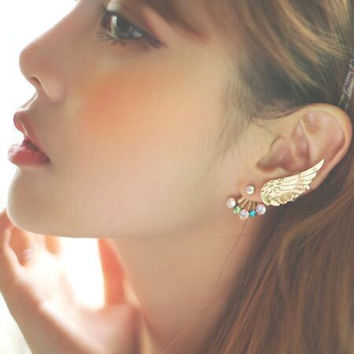 Stylish Strong Character Earring Accessory [4918503108]