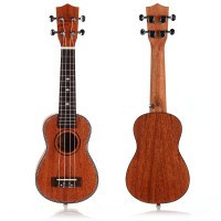 21 Soprano Ukulele Uke Ukelele for Kids Adult High Quality - Default