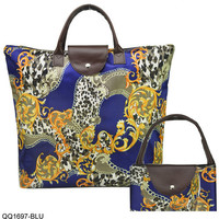 Vintage Printed Ladies Tote