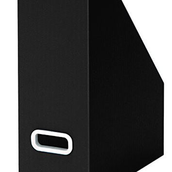 Bankers Box Premier Magazine Files, Black, 3-Pack (7648201)