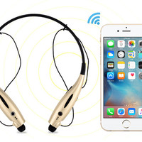 Bluetooth Headphones Stereo Neckband Wireless Headset Sport Earbuds with Mic (10 Hours Play Time, Bluetooth 4.1, CVC 6.0 Noise Cancelling, Sweatproof) Gift