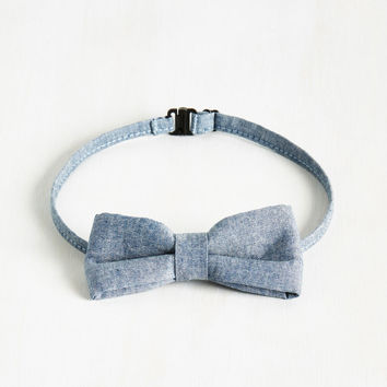 Dare to Denim Bow Tie