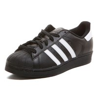 adidas Originals | SUPERSTAR FOUNDATION Sneaker | schwarz-weiß | VAOLA
