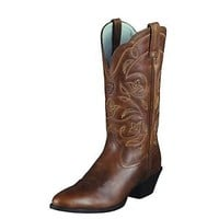 "Ariat 10001015 Heritage Western R Toe 11"" Cowgirl Fashion Riding Boots"