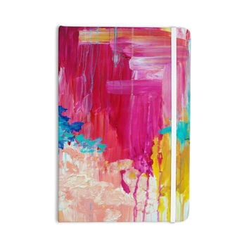 "Ebi Emporium ""Elated"" Multicolor Paint Everything Notebook"