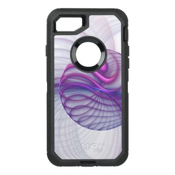 Beautiful Movements Abstract Fractal Art Pink OtterBox Defender iPhone 7 Case