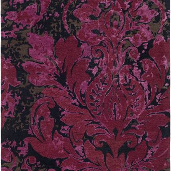 Surya Artist Studio Medallions and Damask Red ART-247 Area Rug