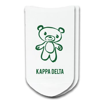 Kappa Delta - Sorority Icon No-Show Socks
