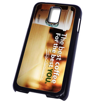 starbucks coffee sustaining FOR SAMSUNG GALAXY S5 CASE**AP*