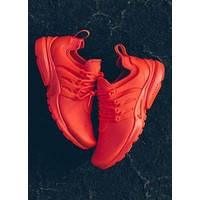 NIKE Air Presto Stylish Unisex Leisure Running Sport Shoes Sneakers Pure Red I